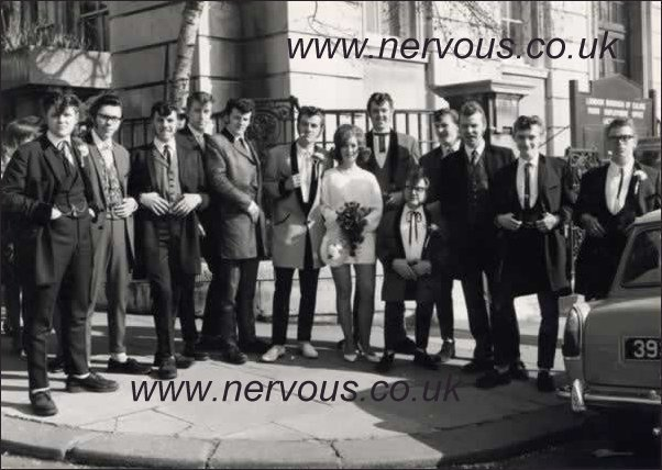 Teddy Boy wedding