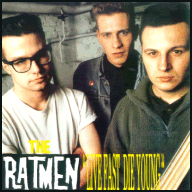 The Ratmen LP sleeve